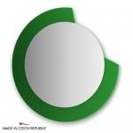 Зеркало с фацетом 10 мм на зеленом основании 80Х80 см FBS COLORA арт. CZ 0604
