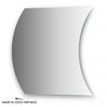 Зеркало с частичным фацетом 10 мм 60Х60 см FBS PRACTICA арт. CZ 0415