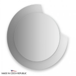 Зеркало с фацетом 10 мм на белом основании 80Х80 см FBS COLORA арт. CZ 0601