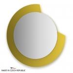 Зеркало с фацетом 10 мм на желтом основании 80Х80 см FBS COLORA арт. CZ 0603