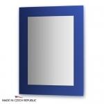 Зеркало с фацетом 10 мм на синем основании 70Х90 см FBS COLORA арт. CZ 0610