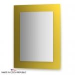 Зеркало с фацетом 10 мм на желтом основании 70Х90 см FBS COLORA арт. CZ 0611
