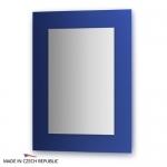 Зеркало с фацетом 10 мм на синем основании 60Х80 см FBS COLORA арт. CZ 0614