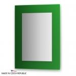 Зеркало с фацетом 10 мм на зеленом основании 60Х80 см FBS COLORA арт. CZ 0616