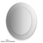 Зеркало с фацетом 10 мм на белом основании 70Х80 см FBS COLORA арт. CZ 0617