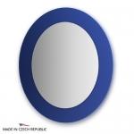 Зеркало с фацетом 10 мм на синем основании 70Х80 см FBS COLORA арт. CZ 0618