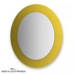 Зеркало с фацетом 10 мм на желтом основании 70Х80 см FBS COLORA арт. CZ 0619