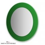 Зеркало с фацетом 10 мм на зеленом основании 70Х80 см FBS COLORA арт. CZ 0620