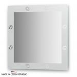 Зеркало с орнаментом - галактика 60Х60 см FBS ARTISTICA арт. CZ 0708