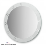 Зеркало с орнаментом - галактика 80Х80 см FBS ARTISTICA арт. CZ 0710