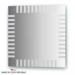 Зеркало с орнаментом - домино 60Х60 см FBS ARTISTICA арт. CZ 0717