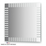 Зеркало с орнаментом - домино 70Х70 см FBS ARTISTICA арт. CZ 0718