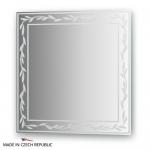 Зеркало с орнаментом - ива 60Х60 см FBS ARTISTICA арт. CZ 0722