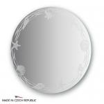 Зеркало с орнаментом - акватика 60Х60 см FBS ARTISTICA арт. CZ 0764