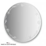 Зеркало с орнаментом - акватика 80Х80 см FBS ARTISTICA арт. CZ 0765
