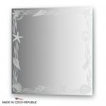 Зеркало с орнаментом - акватика 60Х60 см FBS ARTISTICA арт. CZ 0767