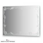 Зеркало с орнаментом - акватика 80Х60 см FBS ARTISTICA арт. CZ 0768