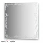 Зеркало с орнаментом - акватика 70Х70 см FBS ARTISTICA арт. CZ 0769